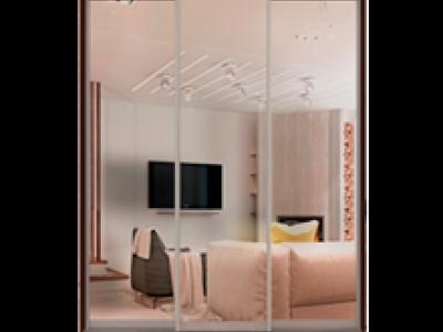 Шкафы-купе с зеркалом